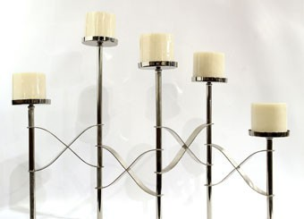 New Product : 5 Steps Candle Holder