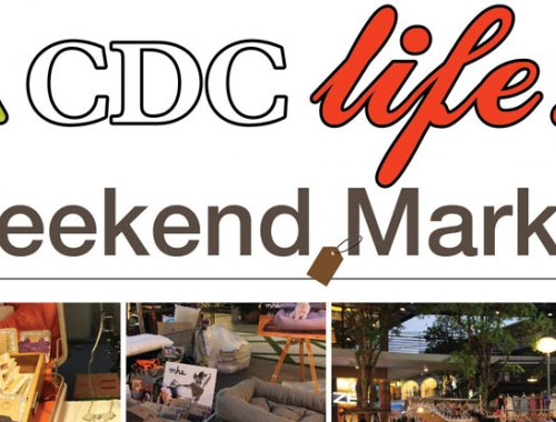 CDC Weekend Market สัญจร